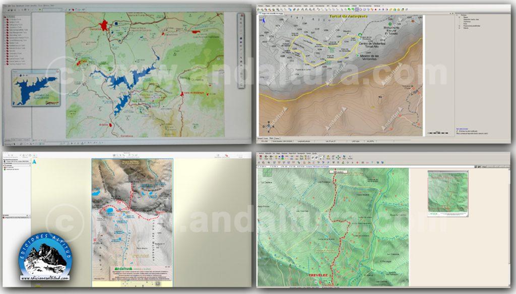 Mapas cartografico gratuitos de Andalucía