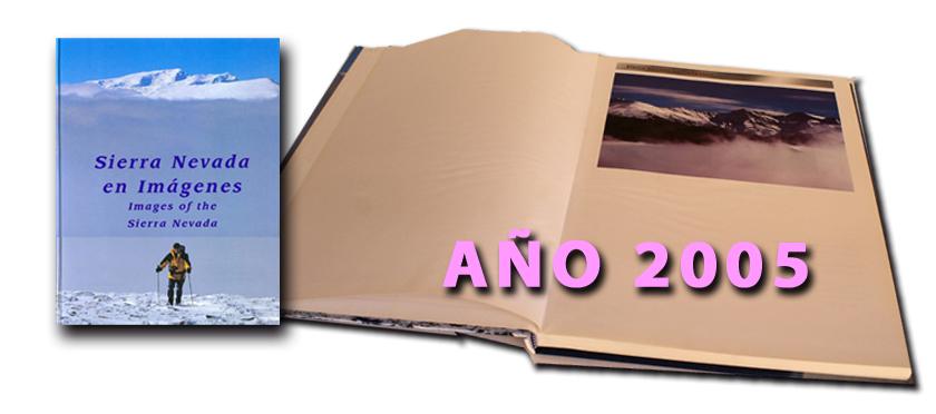 Antigua edición del libro Sierra Nevada en Imágenes