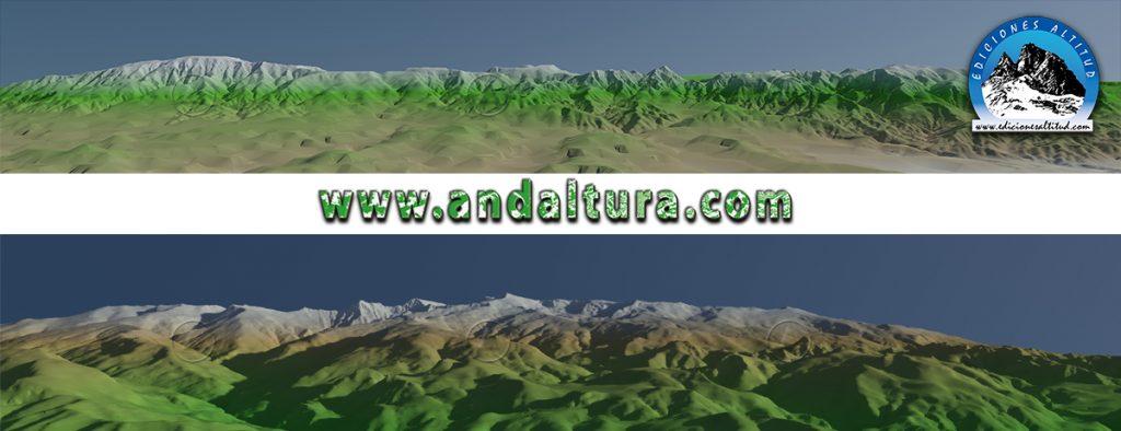 Imágenes Virtuales de La Almijara y Sierra Nevada