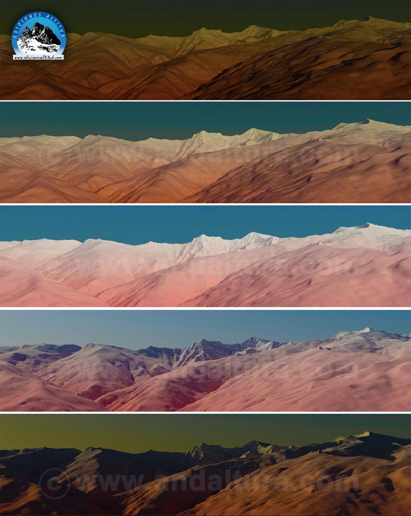 Imágenes Virtuales Sierra Nevada, Animaciones Sierra Nevada