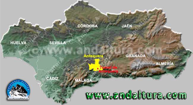Como llegar a Antequera y al Torcal Alto