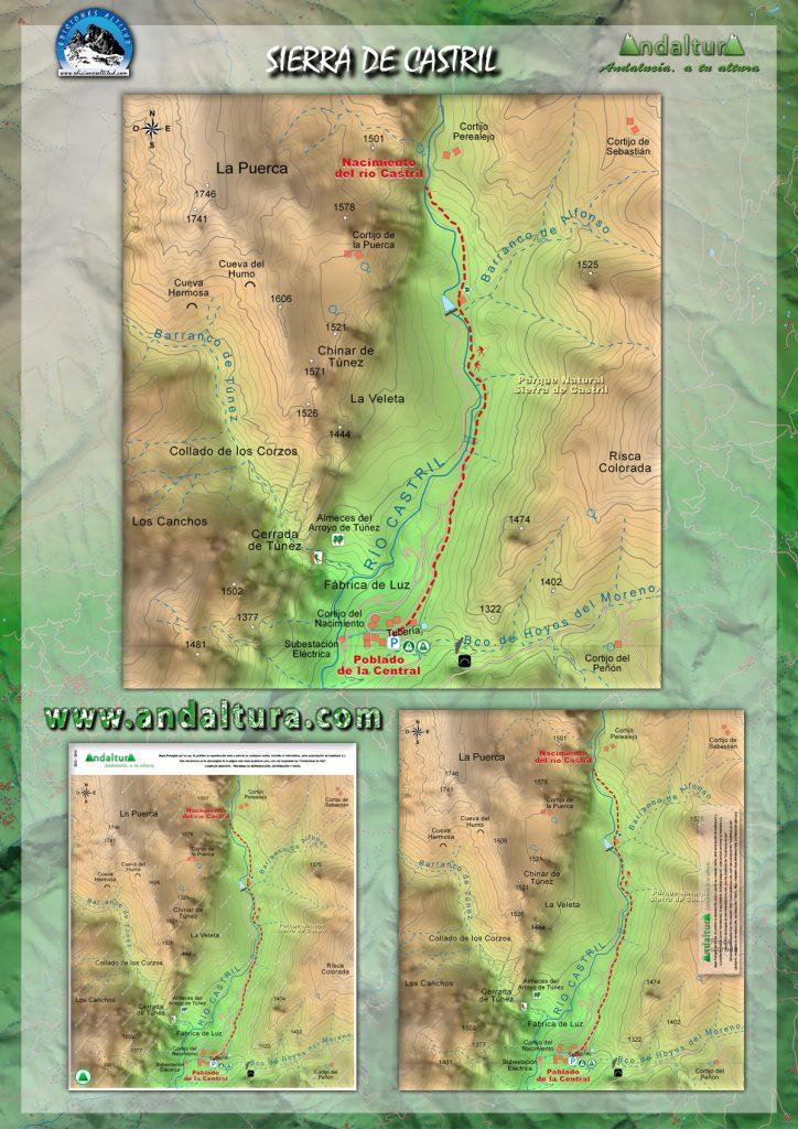 Ruta de Senderismo y de BTT por la Sierra de Castril