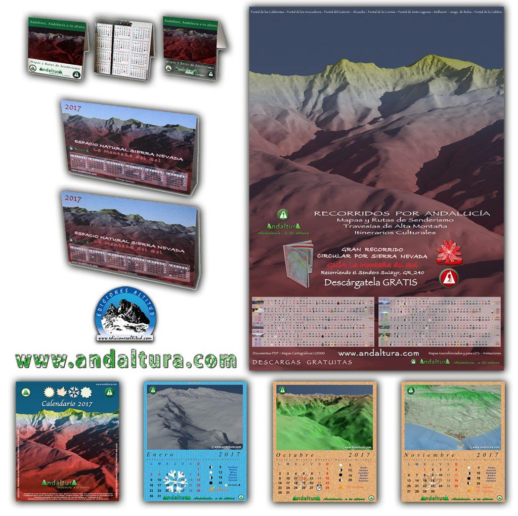 Calendarios, Poster y Carteles de Andalucía