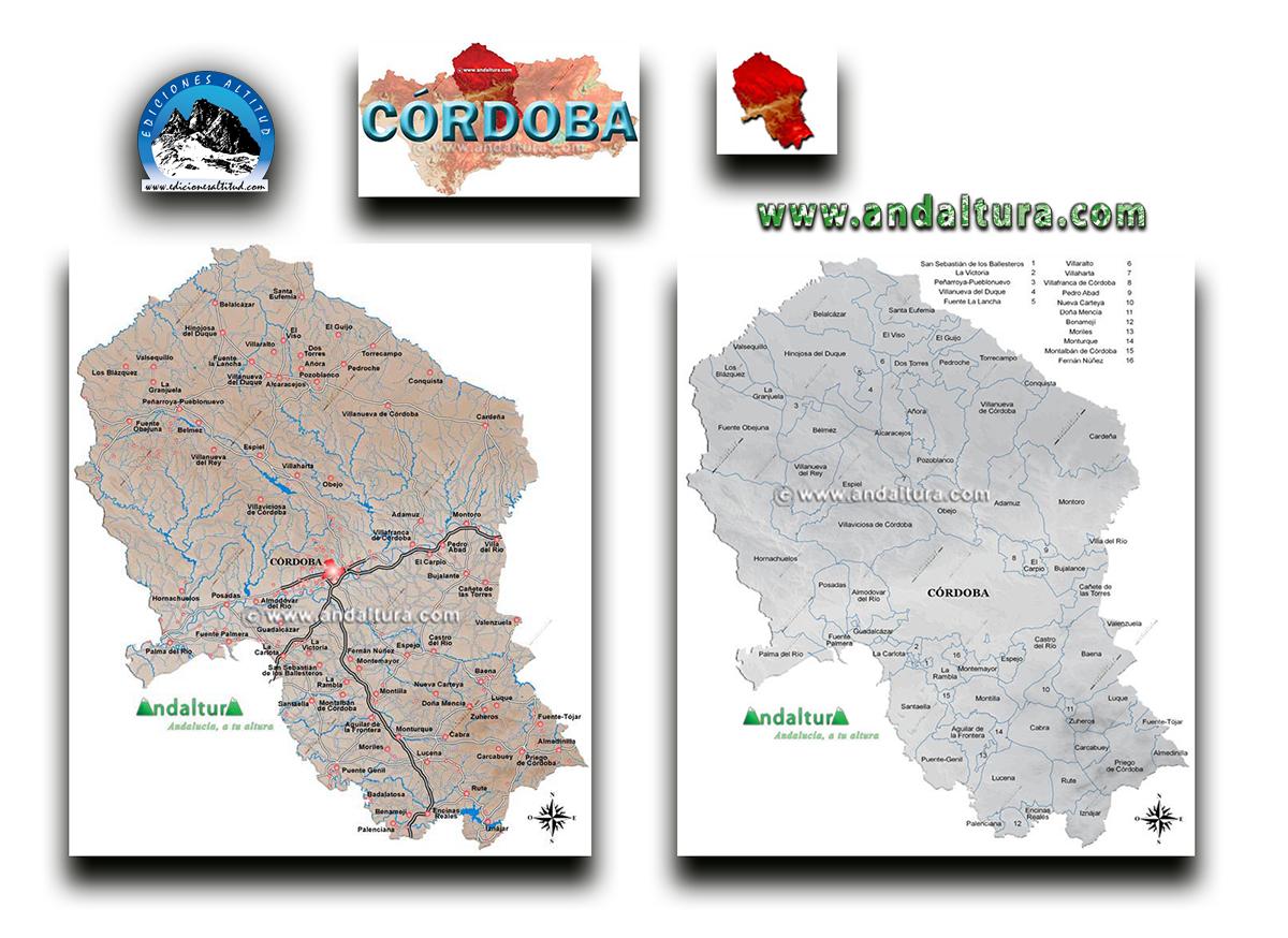 Mapas Interactivos de la provincia de Córdoba