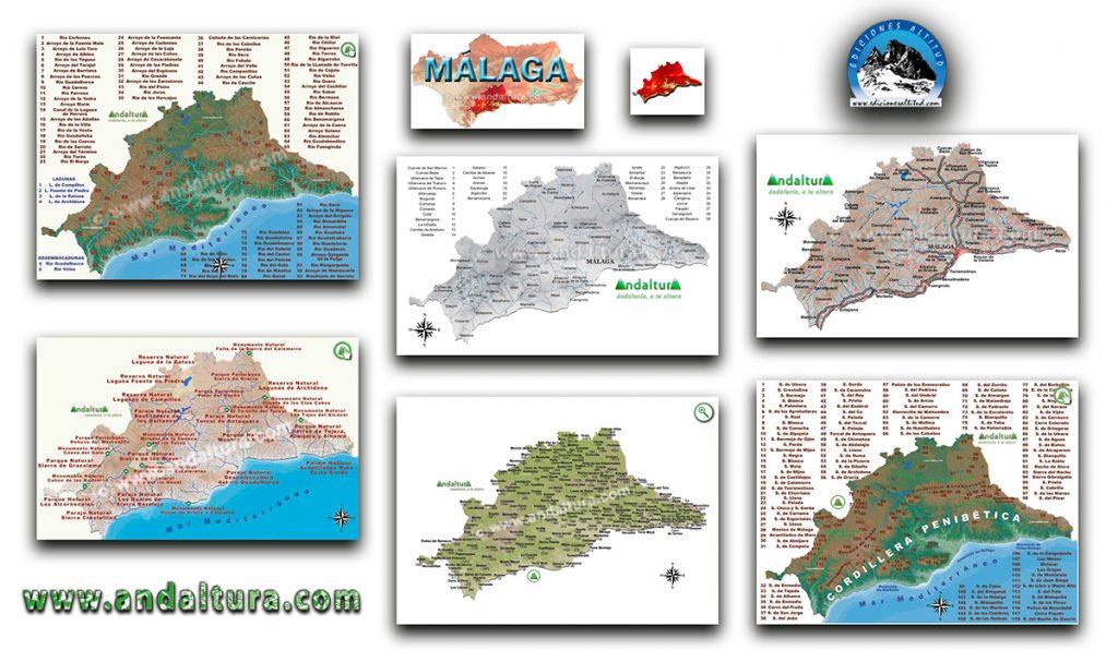 Mapas Interactivos de la provincia de Málaga