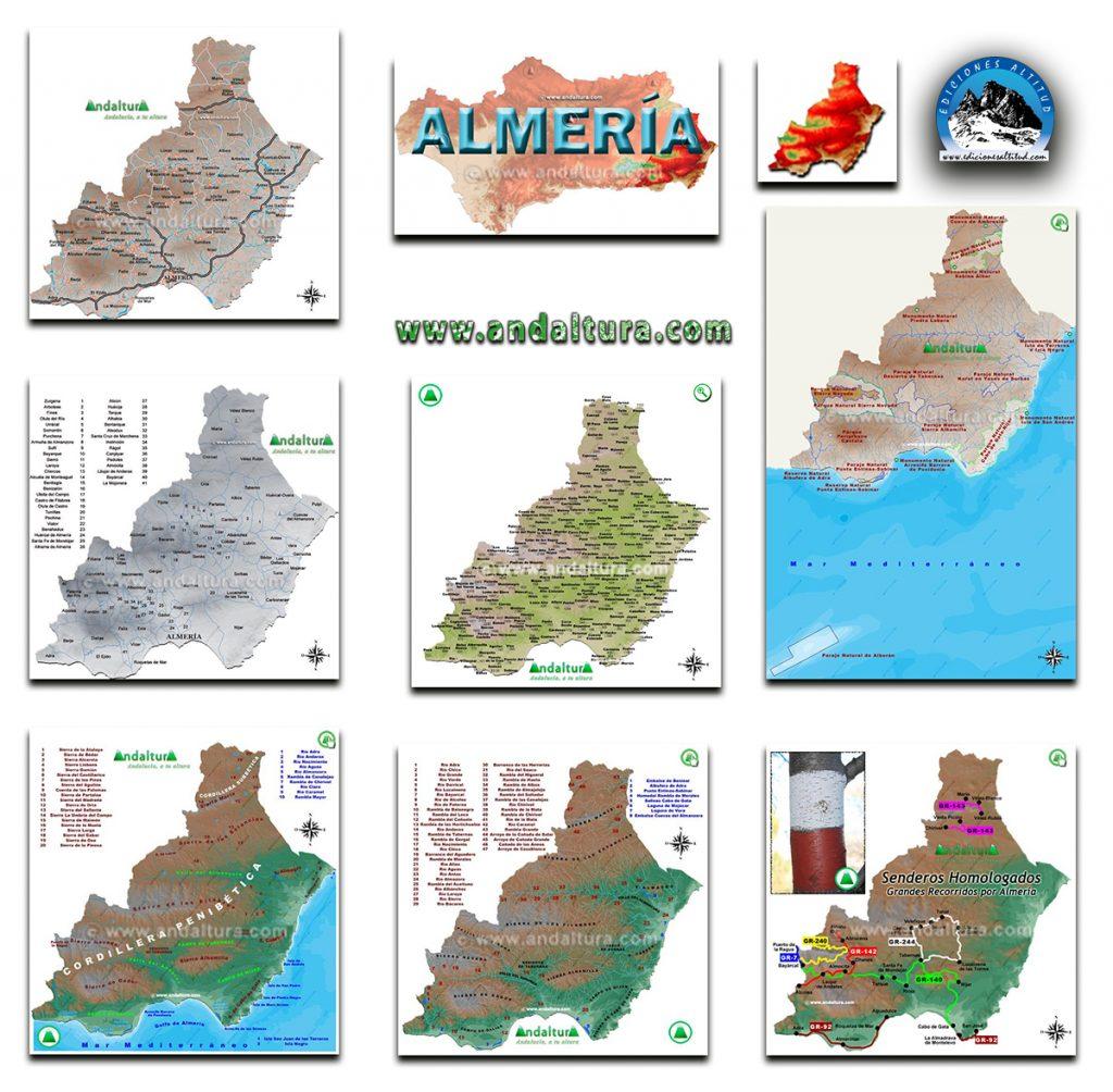 Mapas Interactivos de la Provincia de Almería
