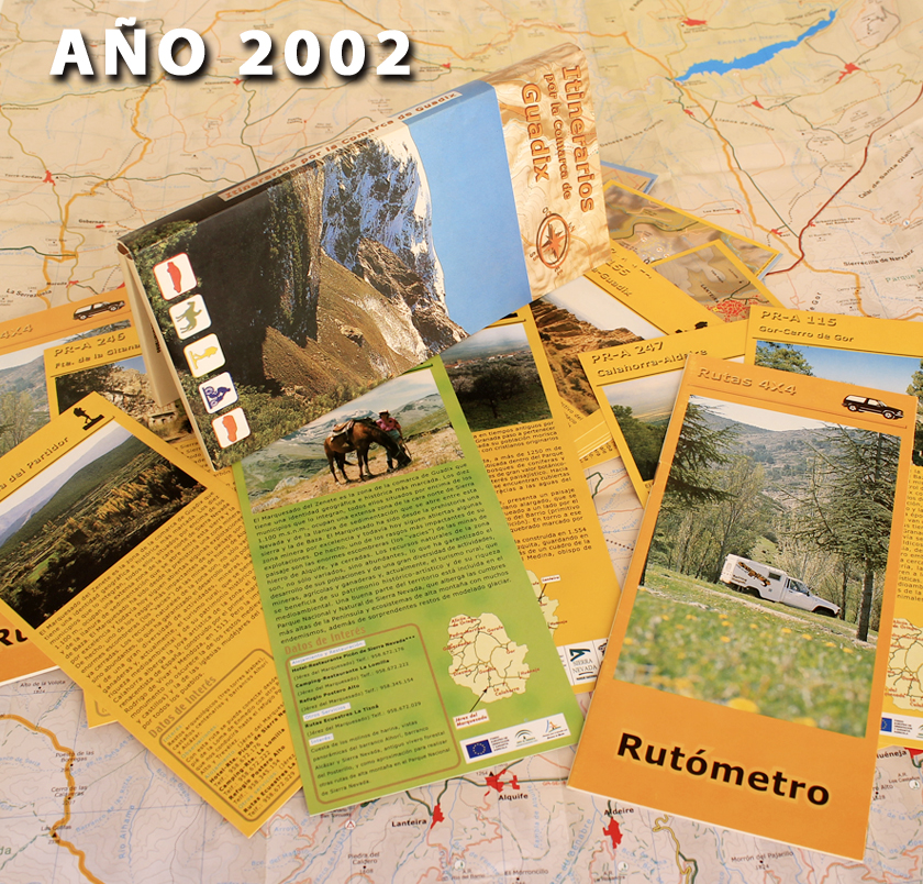 antiguos mapas por la Comarca de Guadix