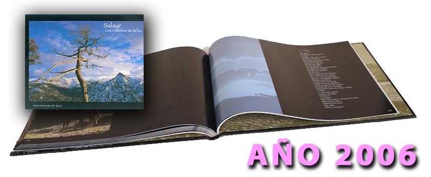 Antigua edición del libro Sulayr, los Caminos de La Luz