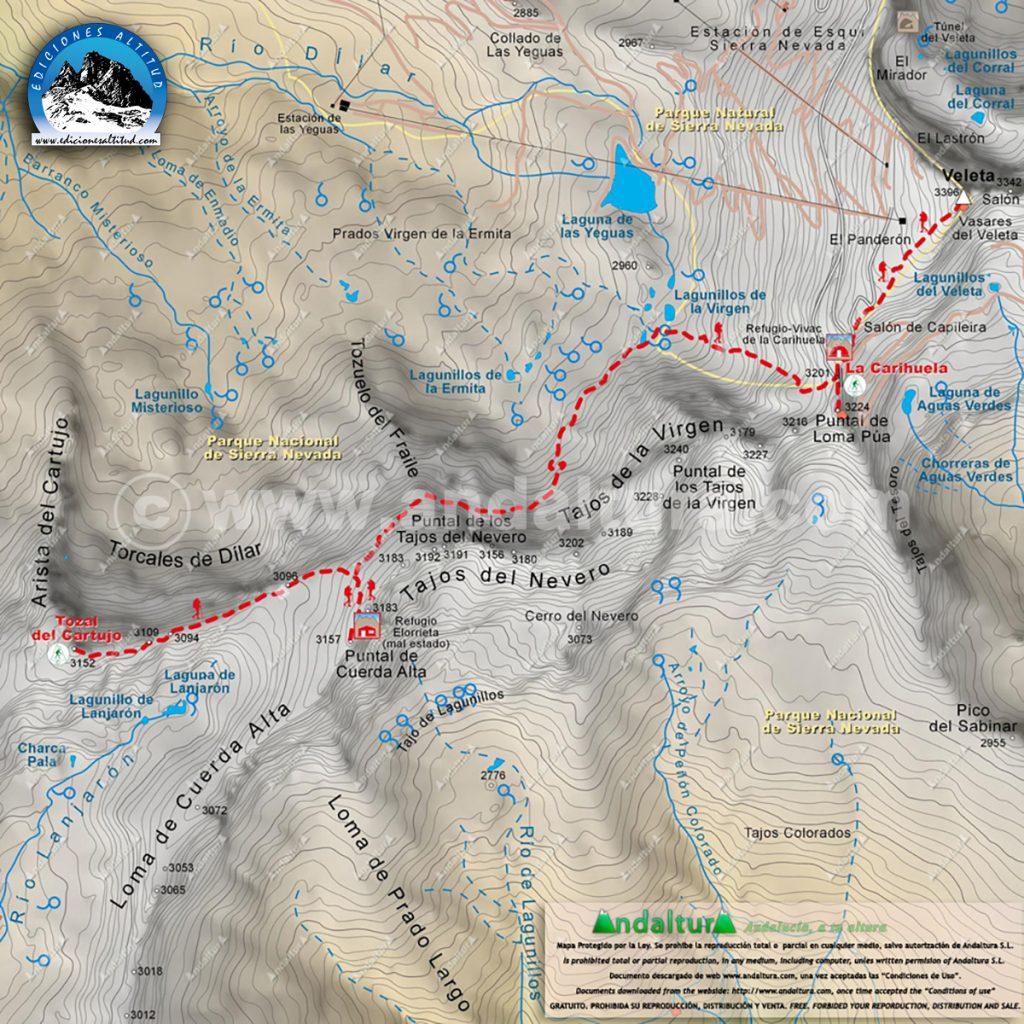 Mapas Cartograticos para GPS, mapas de Andalucía para GPS